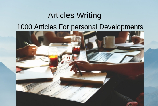 1000 Articles For Personal Developments