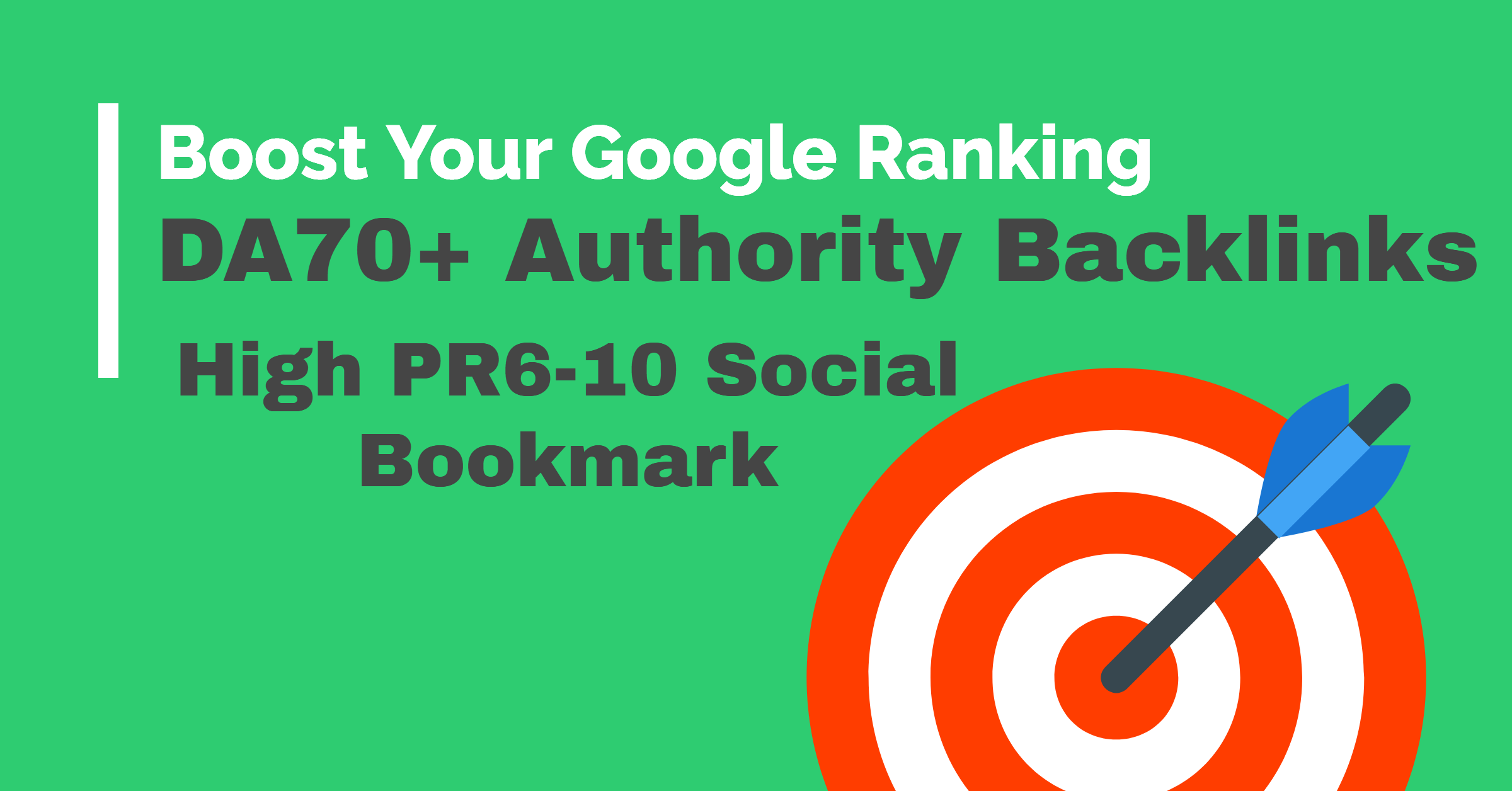 Create Manually 30 High DA90 Authority Backlinks + 10 High PR9 Social Bookmark