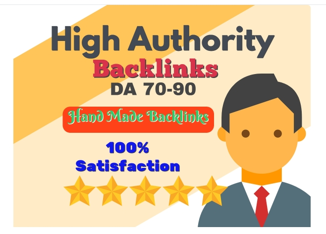 Handmade 60 DA90 Dofollow Backlinks+10 High PR9 Social Bookmark + Bonus