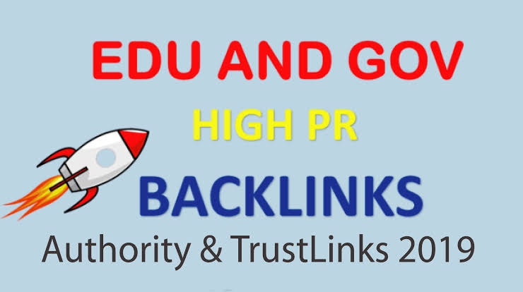 20 Trust and Authority. edu-. gov Links for your site,  blog and Youtube videos