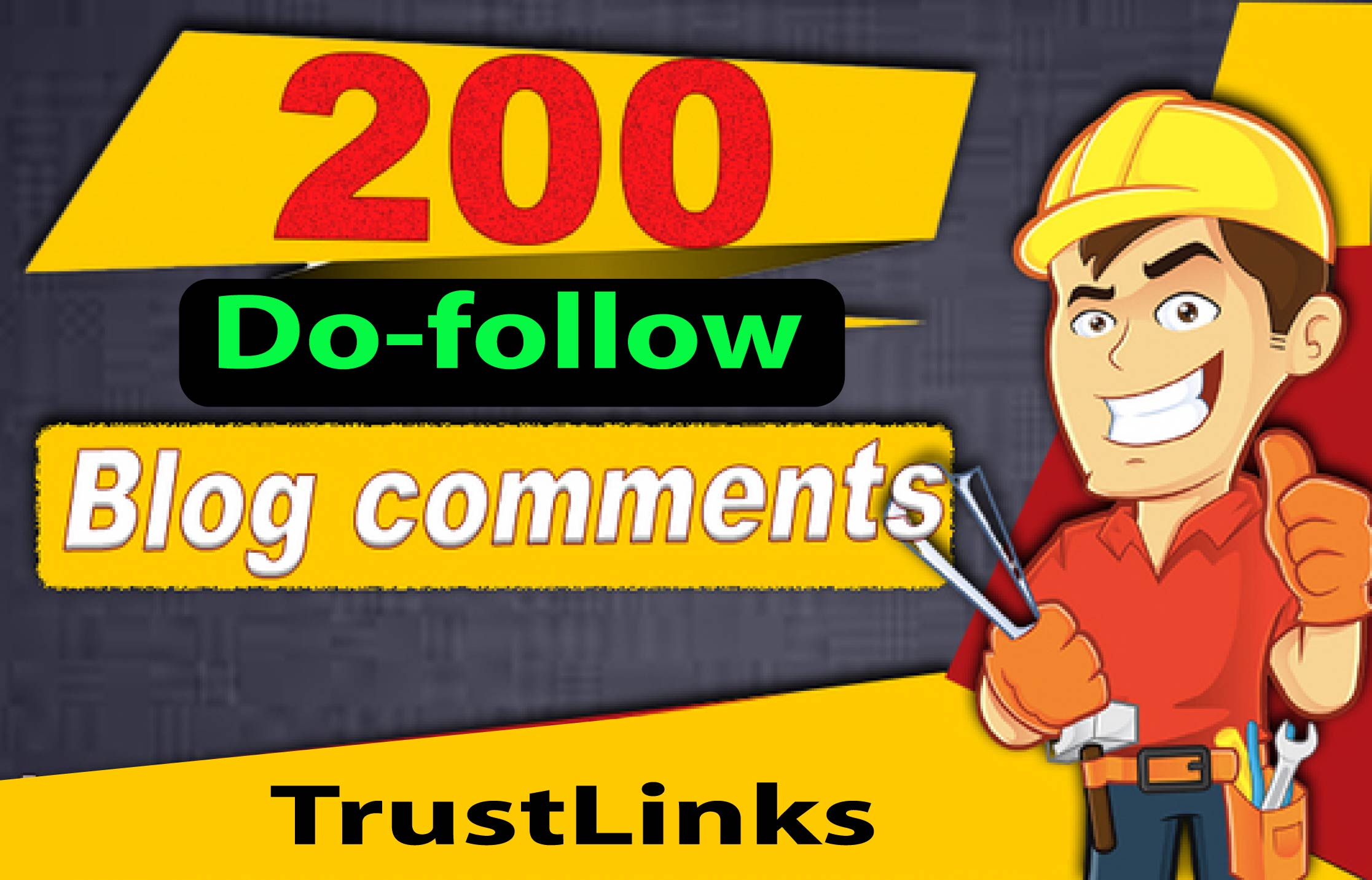Create 200 Dofollow Blog Comments Backlinks