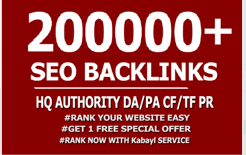 Seo 200,000 Gsa Dofollow high Quality backlinks for Google First page With High DA, PA, TF