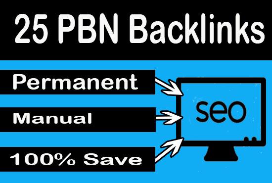 25 Homepage PBN using high DA PA To Get Fast Ranking