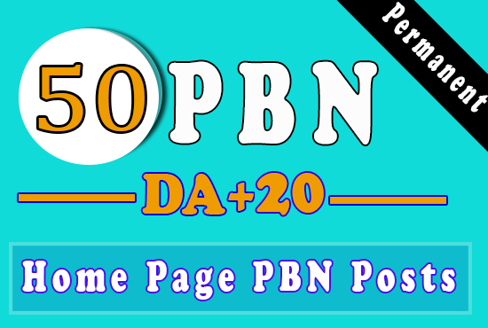 50 PBNs Backlinks With High DA/PA/CF/TF for ranking on Google