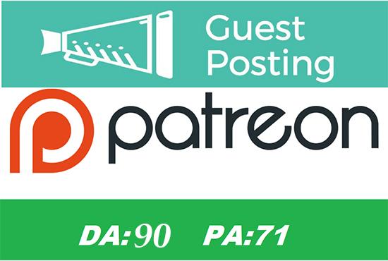 Guest post on DA 90 google news site dofollw backlink