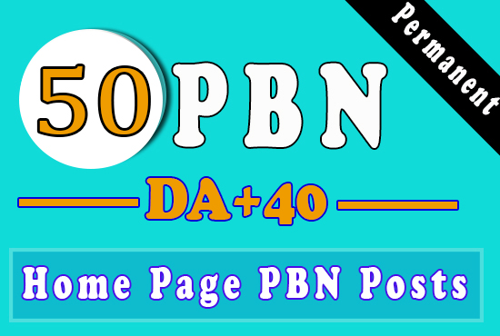 50 Homepage PBN Backlinks Get Fast Ranking