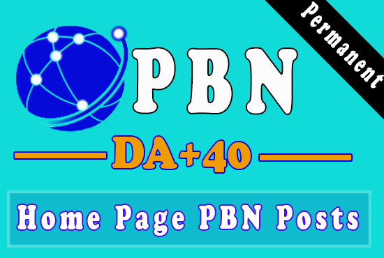 4 Homepage PBN Backlinks Get Fast Ranking for