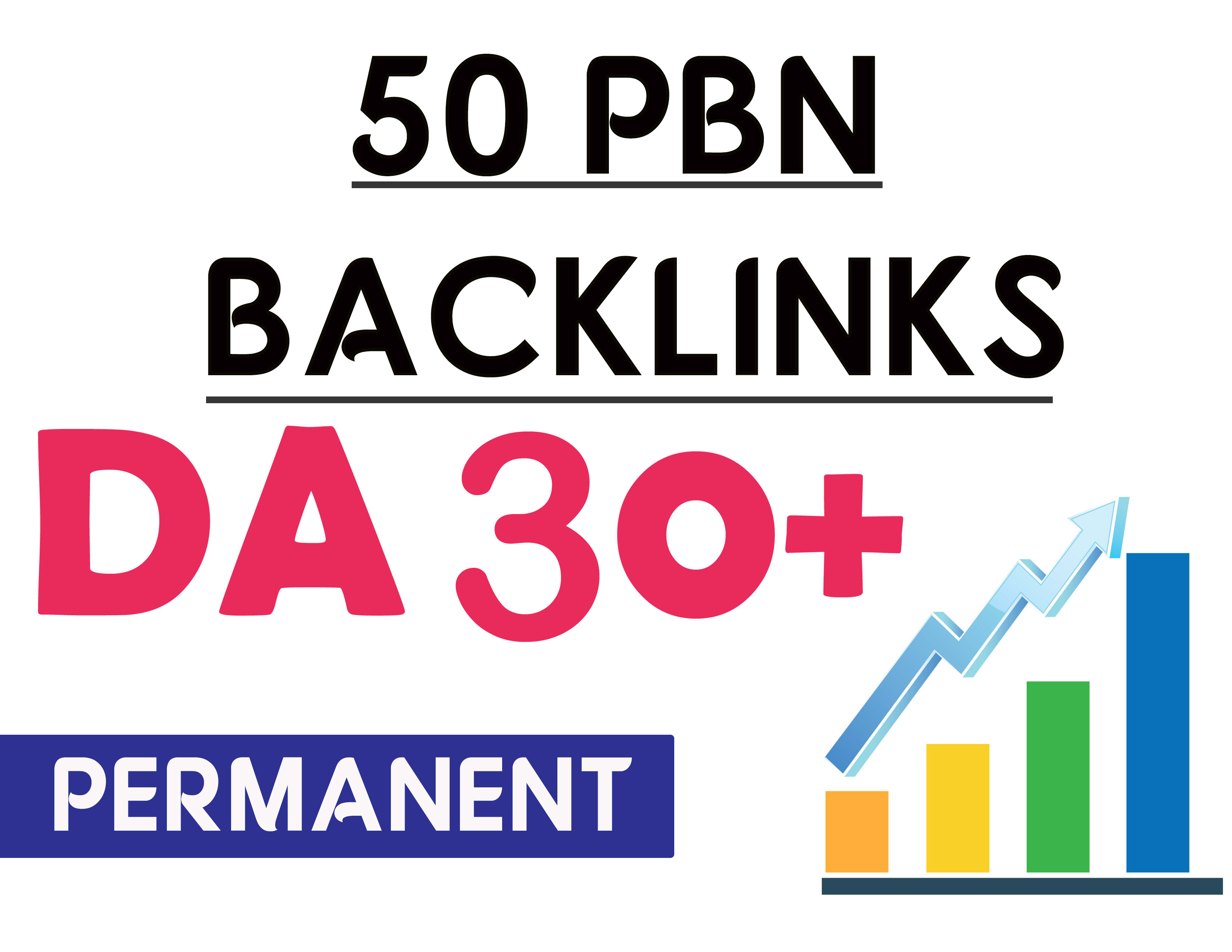 limited offer 50 PBNs Backlinks With High DA/PA/CF/TF for ranking on Google