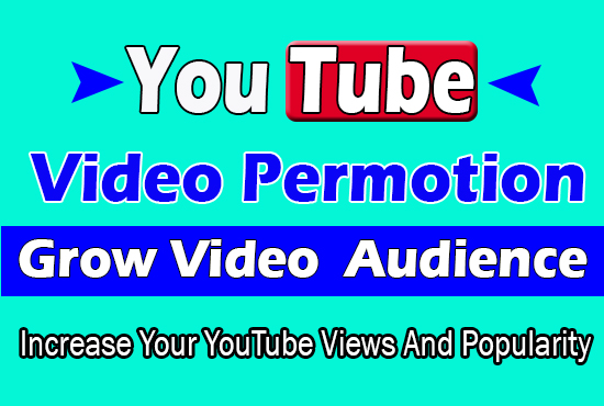 promote youtube video organic video promotion with Super fast delivery