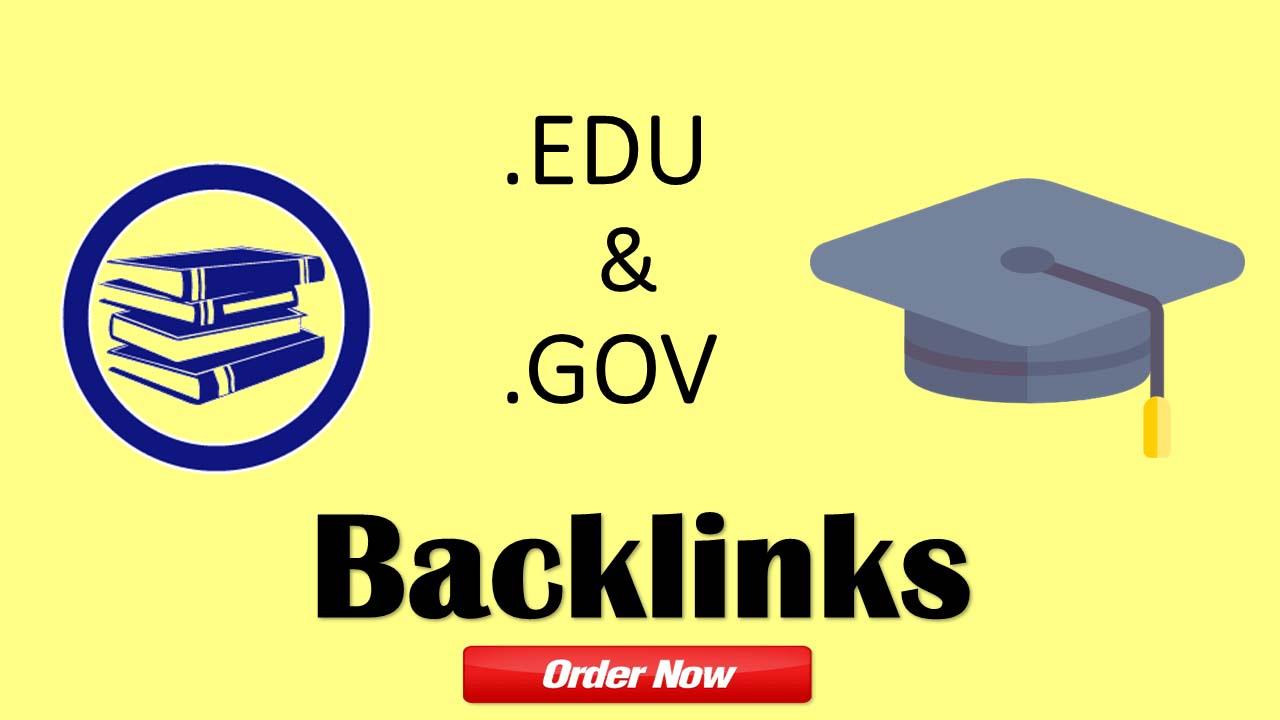High Authority 400+ EDU. Gov. Backlink