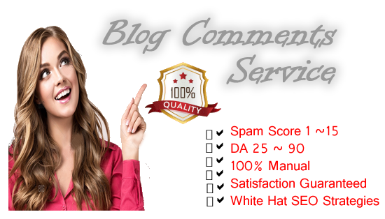 100 Blog Comments 100 White Hat Strategies & 100 Manual work