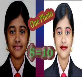 Image Re-touch moneyback guaranteed-100% buyer Satisfy