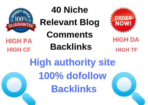 40 Niche Relevant Manual Blog Comments