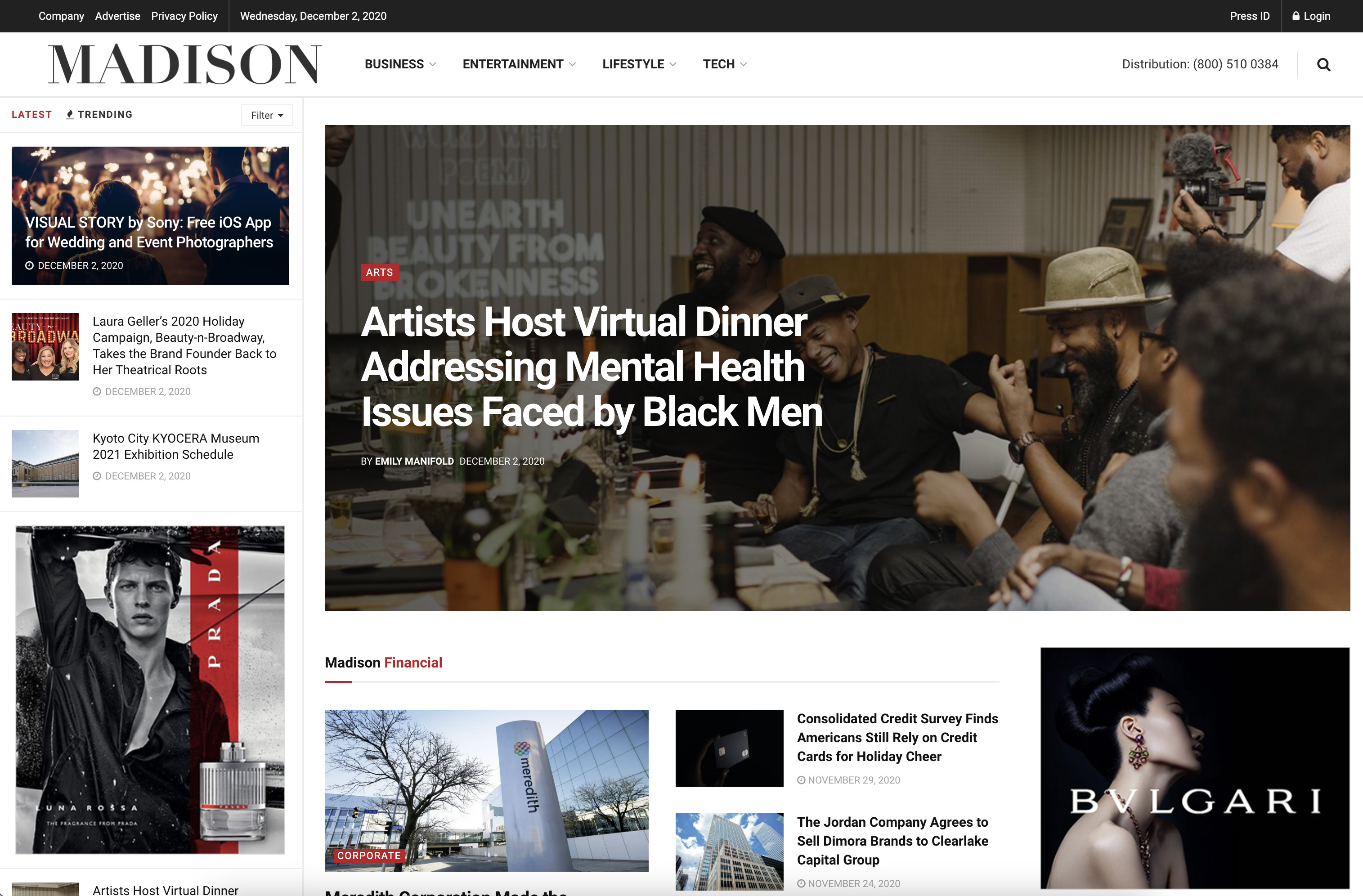 Publish interview or editorial article on MadisonGraph. com