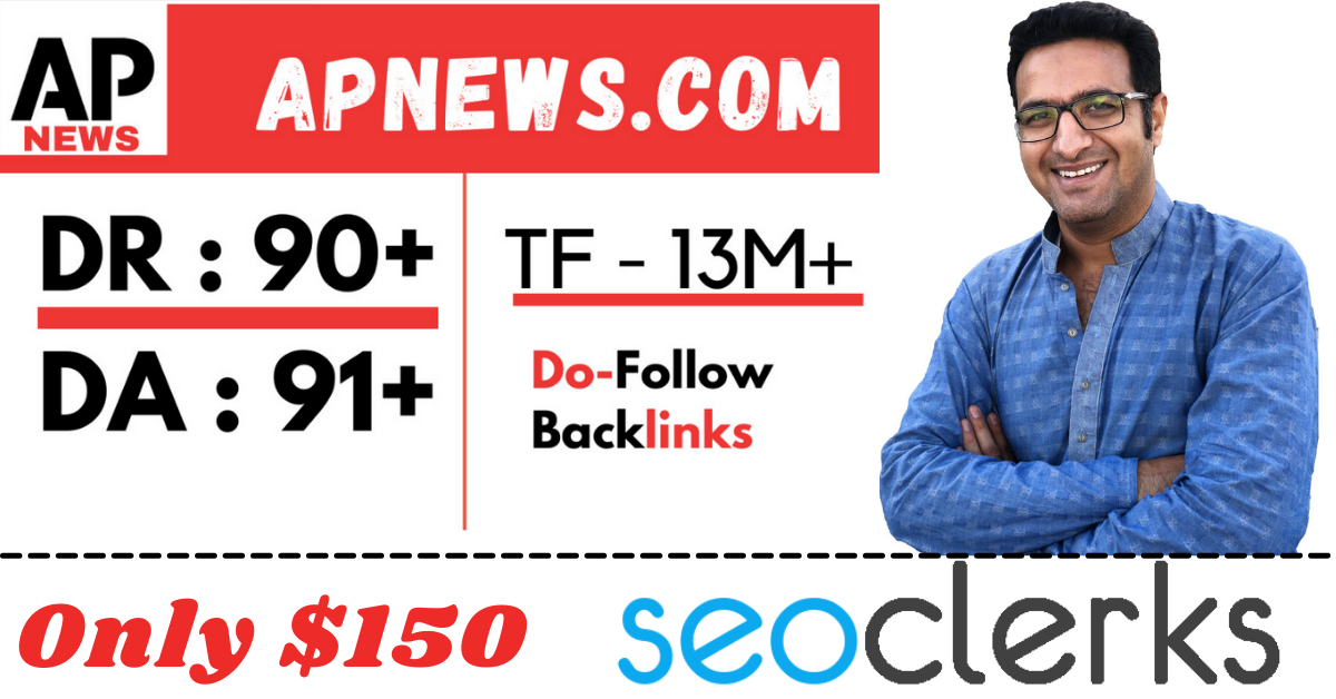 I will do guest post on apnews your press release with dofollow backlinks
