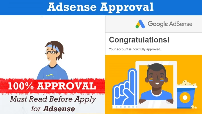 Design and adsense approved on your website