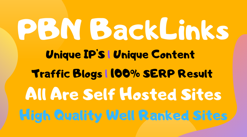25 PBN backlinks on high tf cf da pa metrics PBN sites