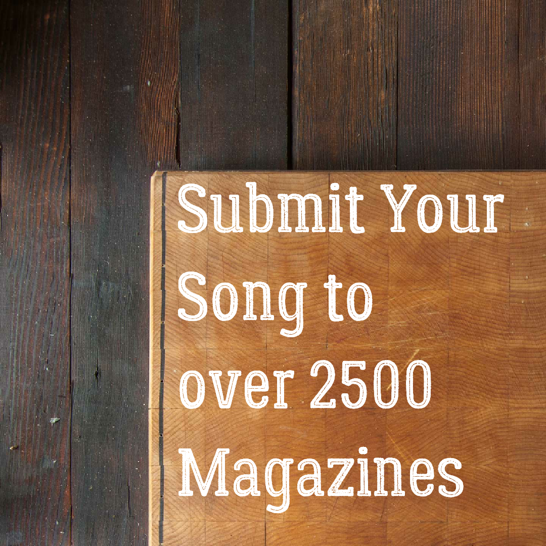 I Will Submit Your Song to over 2500 Music Magazines