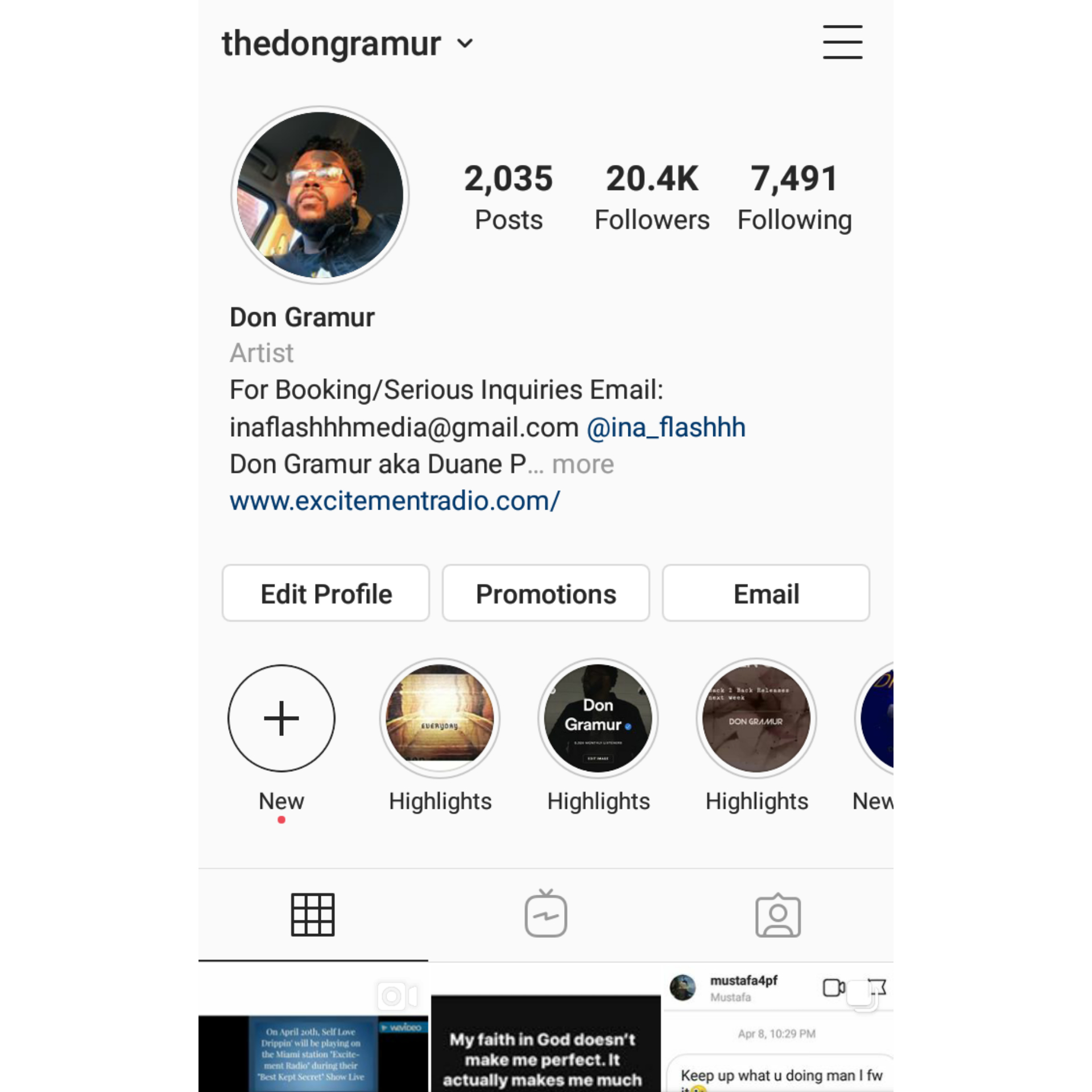 Instagram Shout Out 20.4k People Engagement