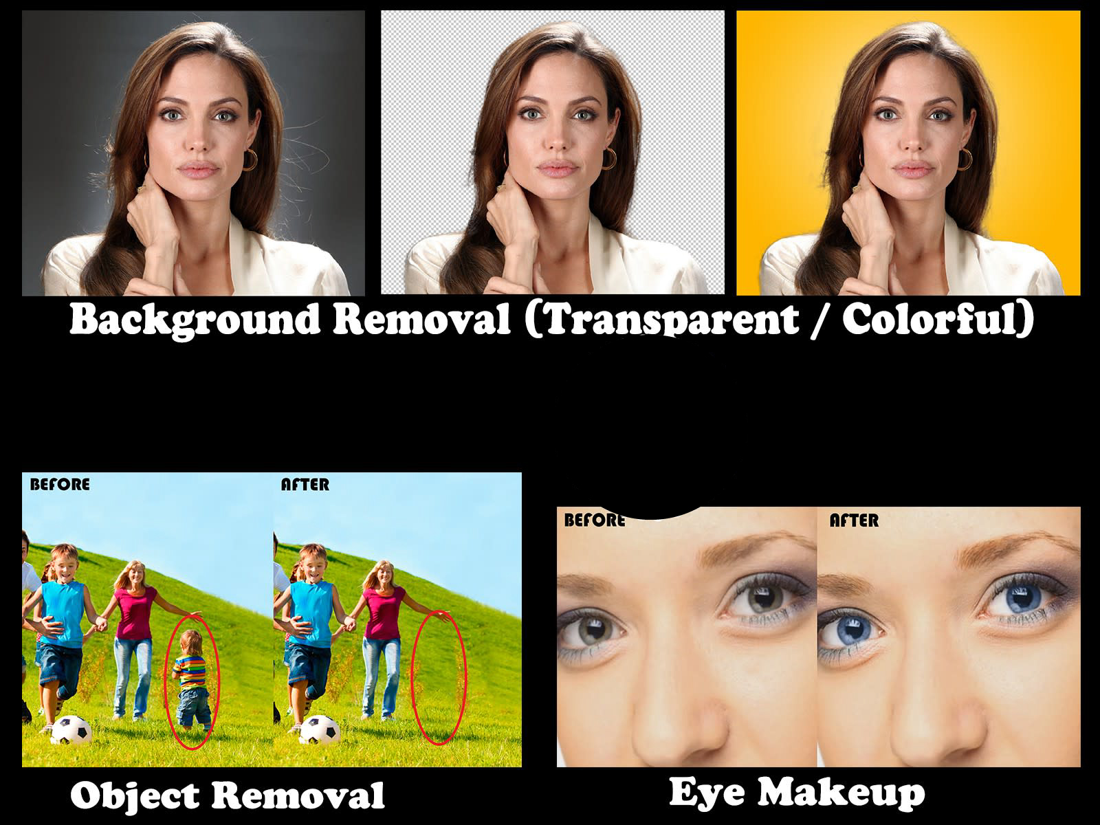 5 image Background remove or any photo editing professionally