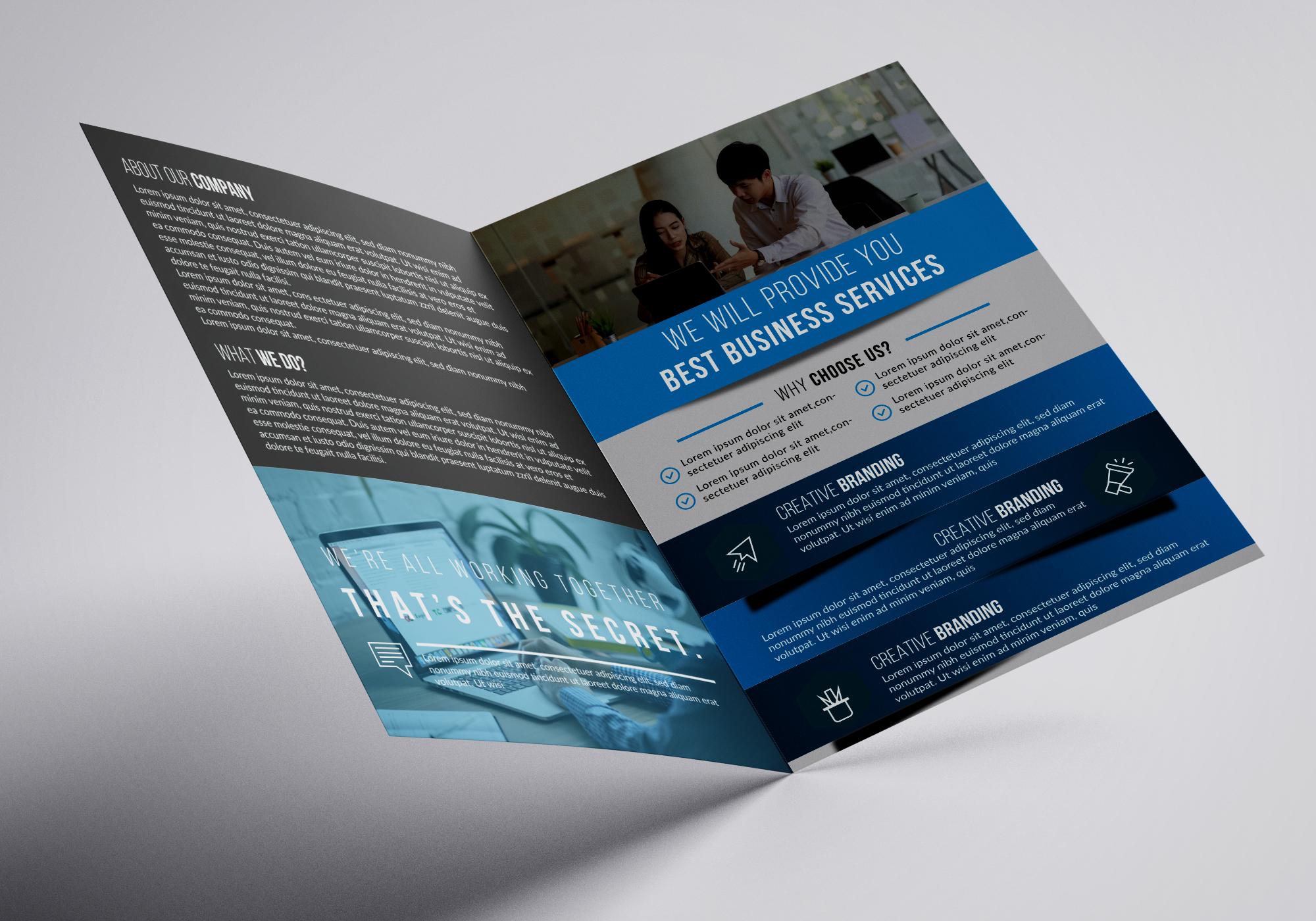 professional flyer/poster/brochure or social media ad design