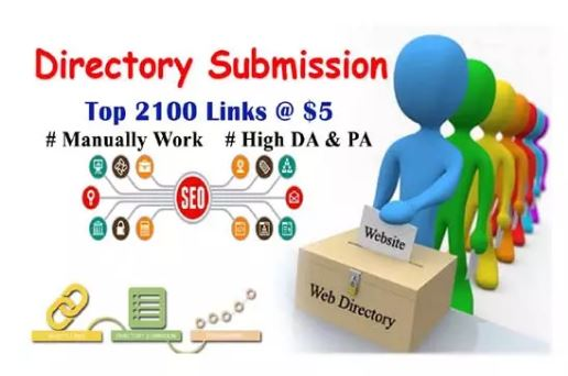 2100 SEO-FRIENDLY DIRECTORY SUBMISSION SERVICE