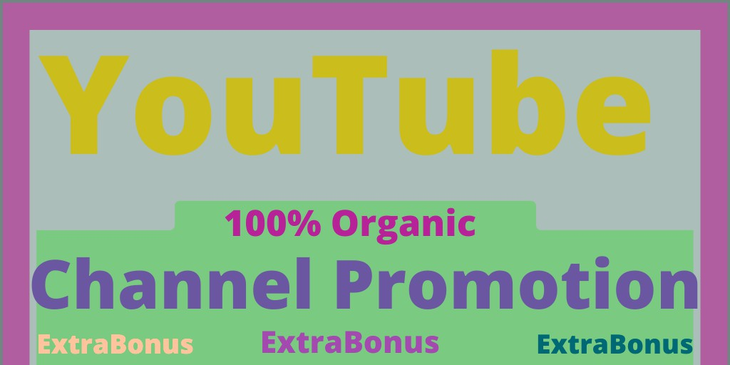 Organic Video Marketing And Social Channel Promotion