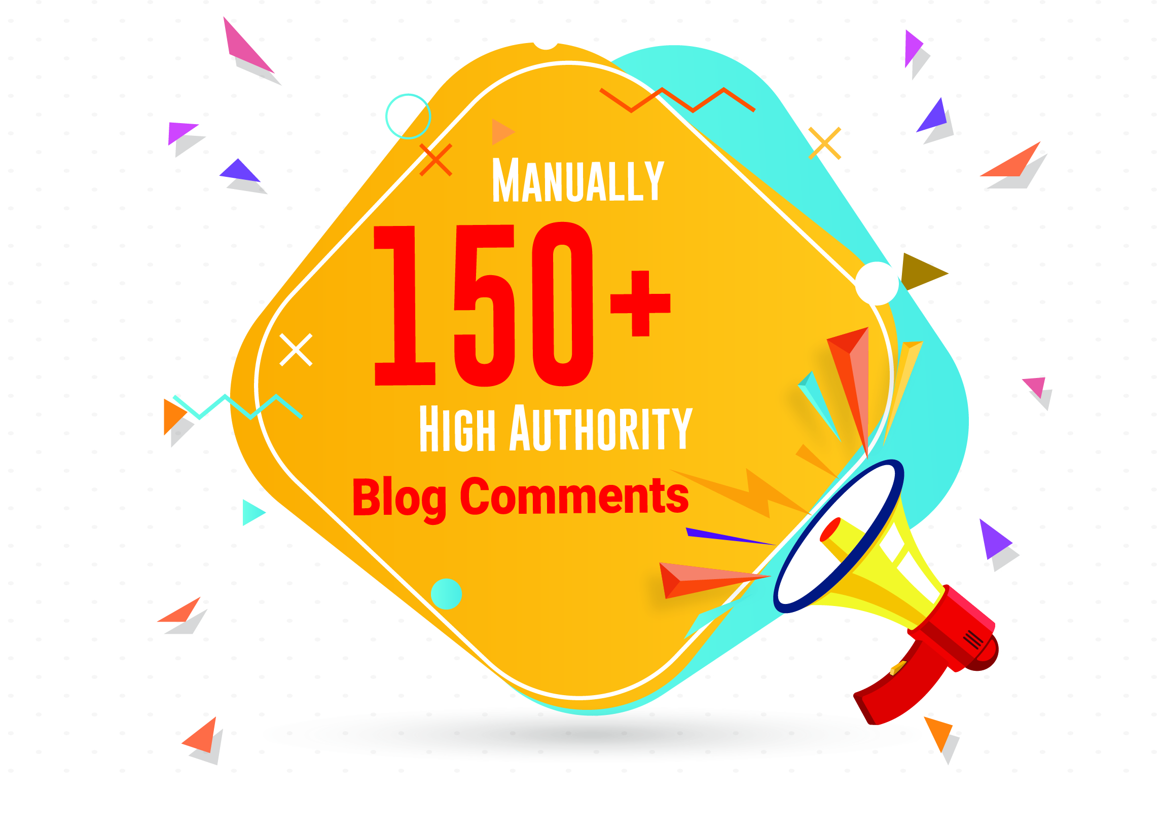 Manually 300 High Quality Blog Comments And High da pa pr dr SEO Backlinks