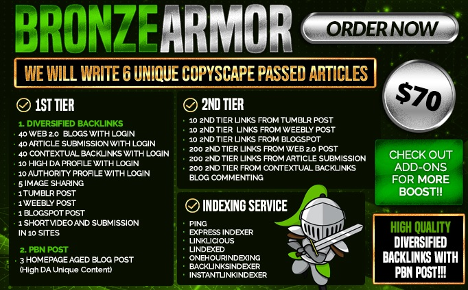 UpRank Armor Complete SEO Package for your website top Ranking