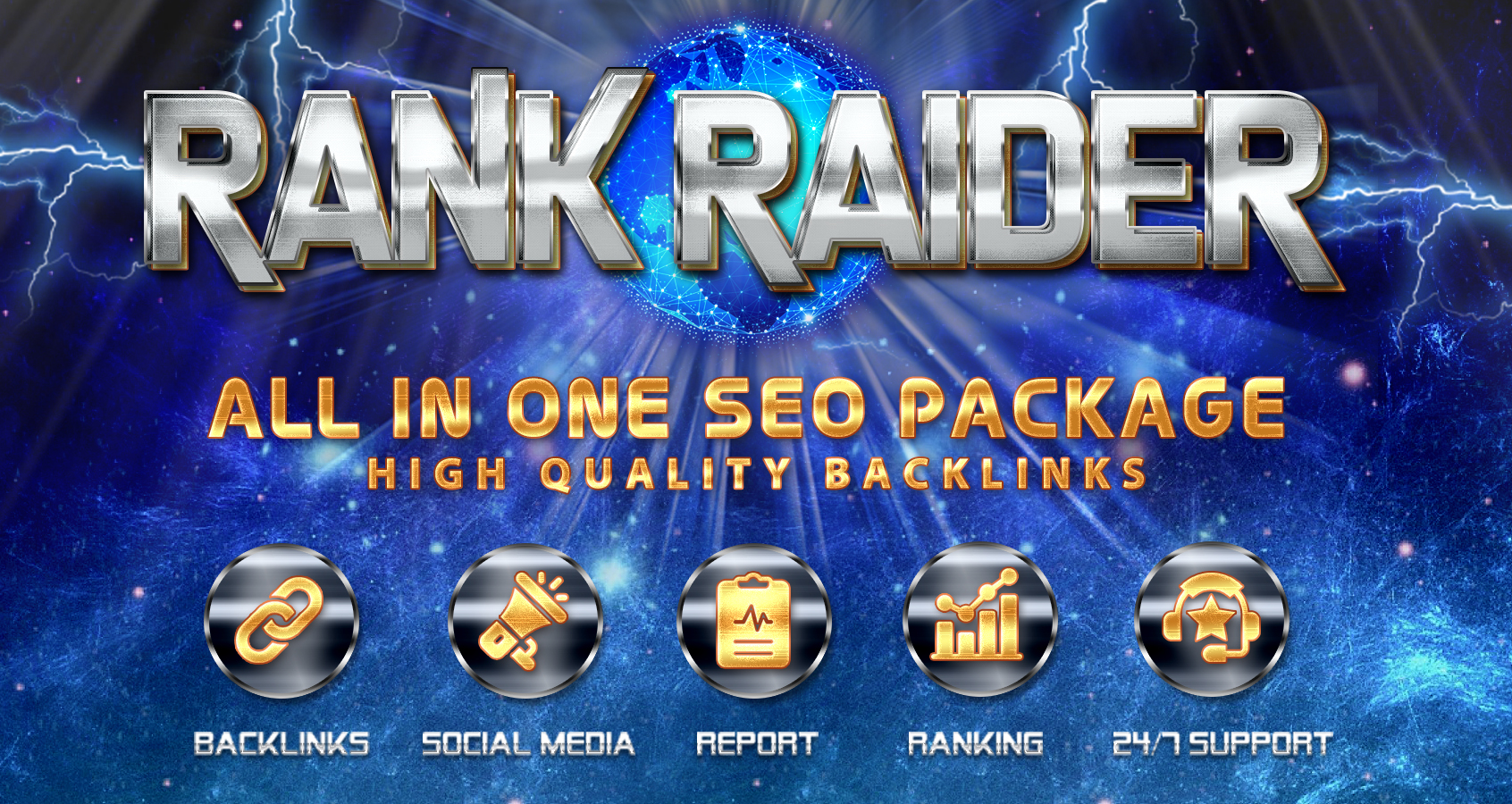Rank Raider- All in One SEO Package Secret Formula to get 1 Google Ranking