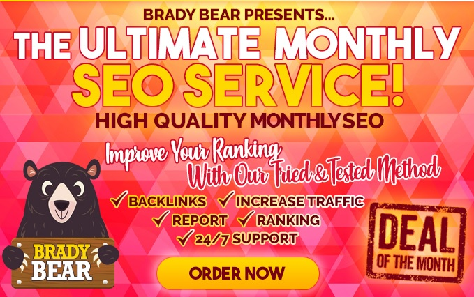 Monthly SEO Service - 720+ High Authority Divesified Quality Backlinks for website Ranking