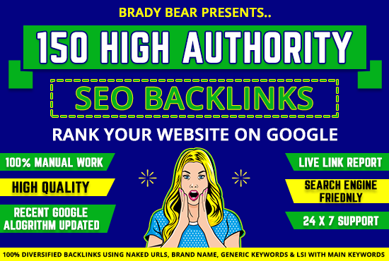 Premium High Authority SEO Backlinks for #1 Google Ranking
