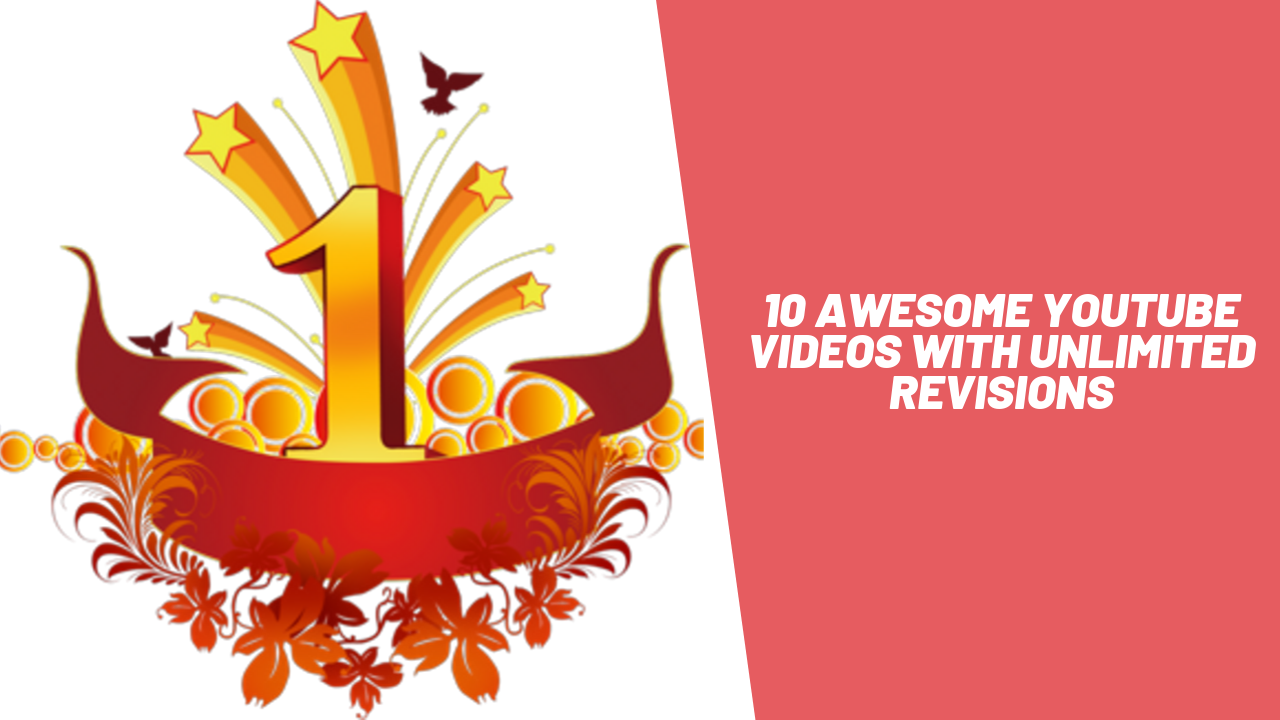 do awesome youtube intros& outros in just 24 hours