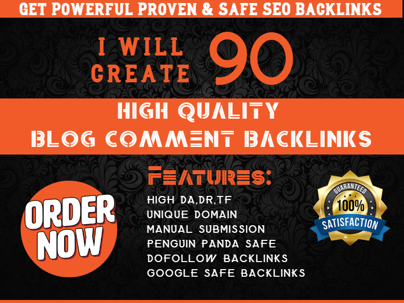 Create 90 Blog Comments Backlinks
