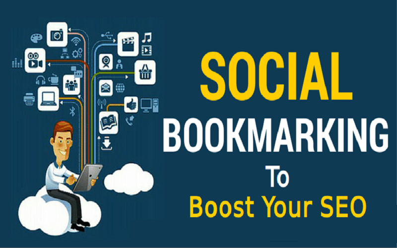 I will manually 15 Social Bookmarking Submission Back links,  high DA PA