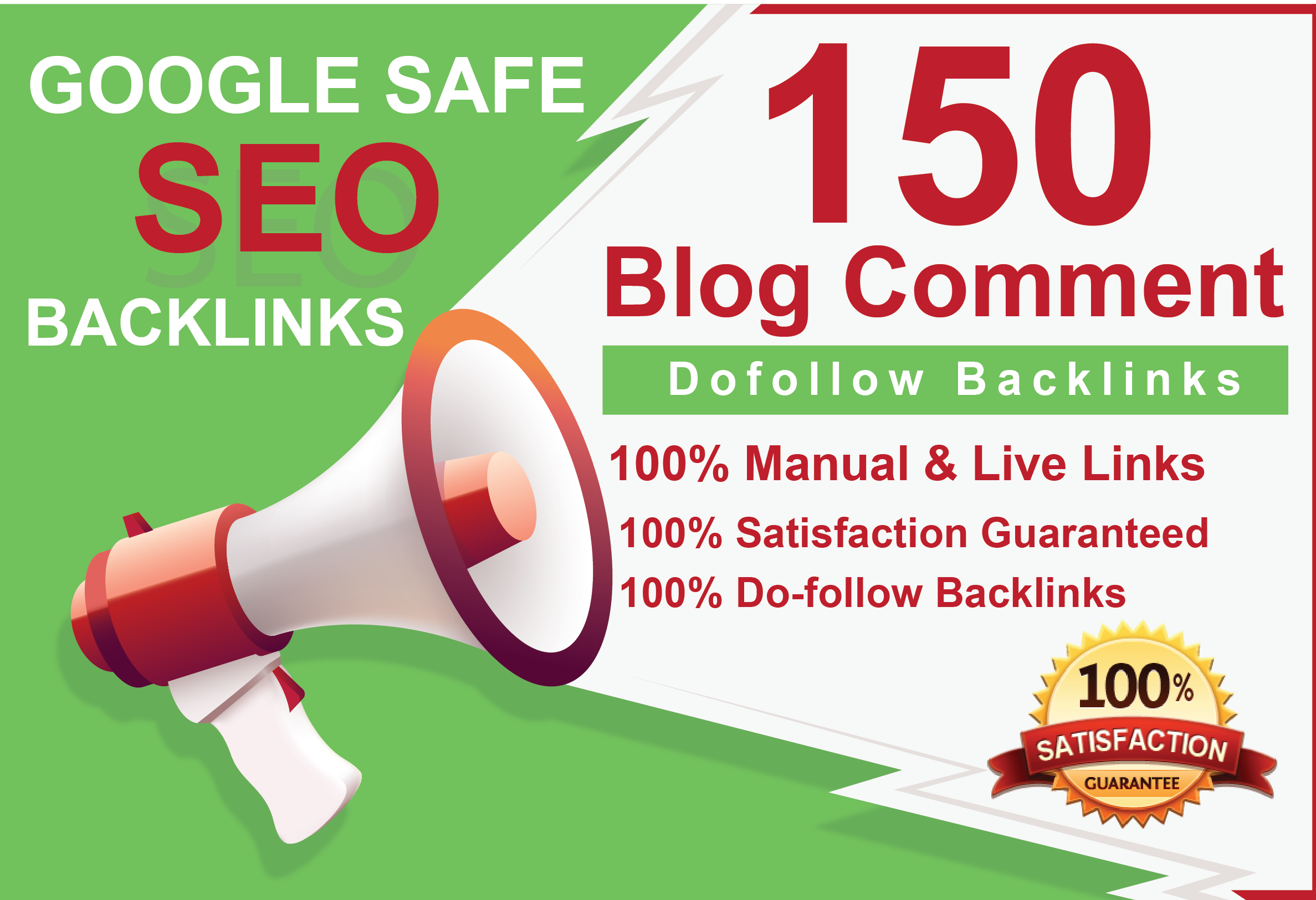 I will do 150 Dofollow blog comments high quality backlinks