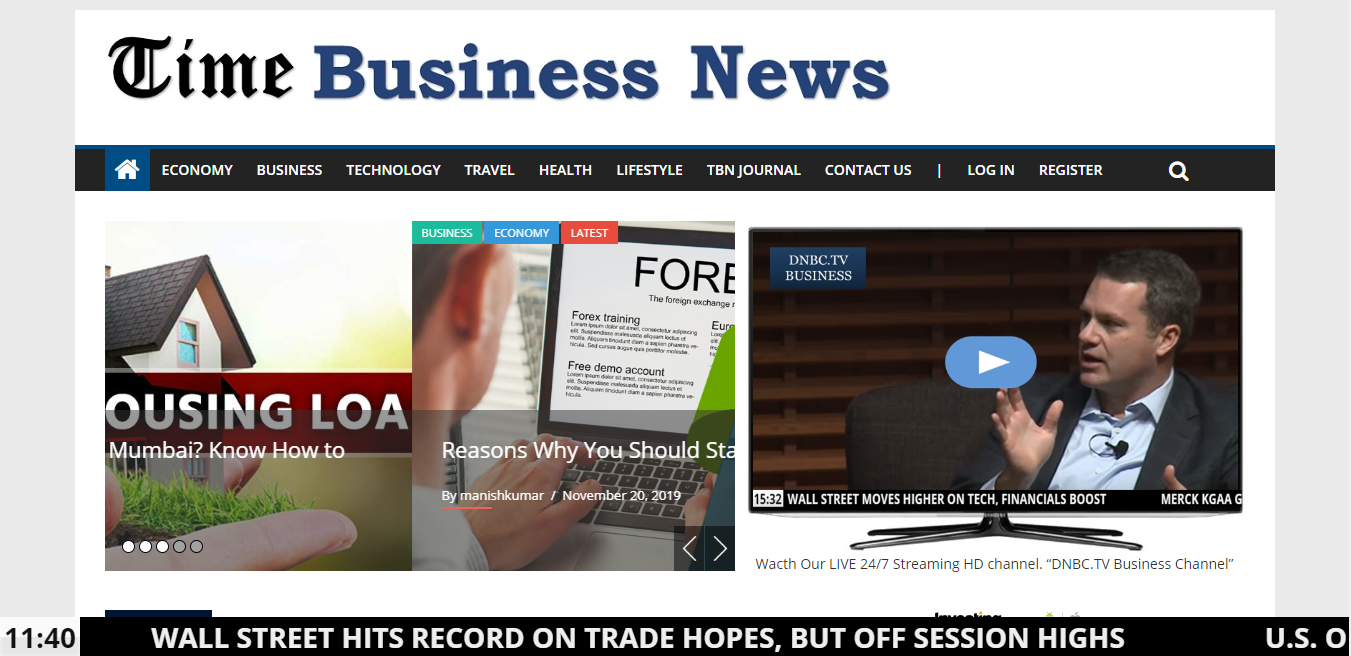 Guest post on Tech Business News site Timebusinessnews. com Da35