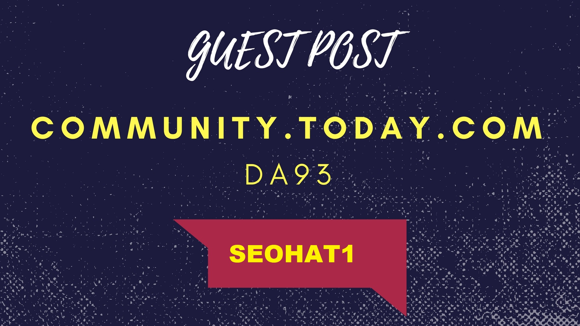 Guest post on community. today. com DA93 authority news site