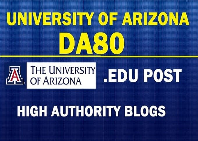 Guest Post On DA80 The University Of Arizona arizona. edu