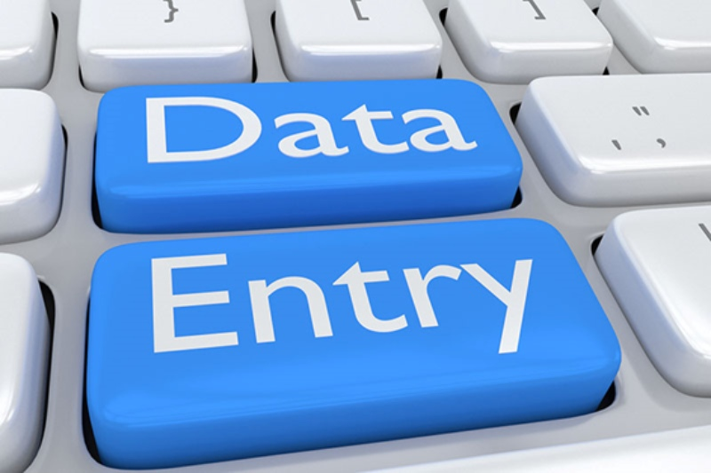 Data Entry, Typing, other typing based services for with copy paste related work
