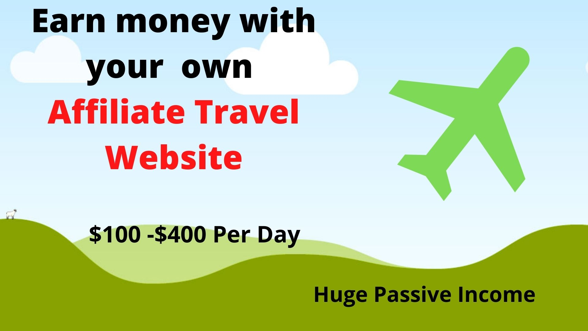 I will make automated travel affiliate website for passive income