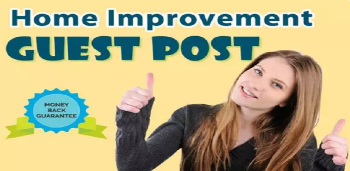 Place A Guest Post On Home Improvement Sites Activerain DA 69 with D0f0ll0w