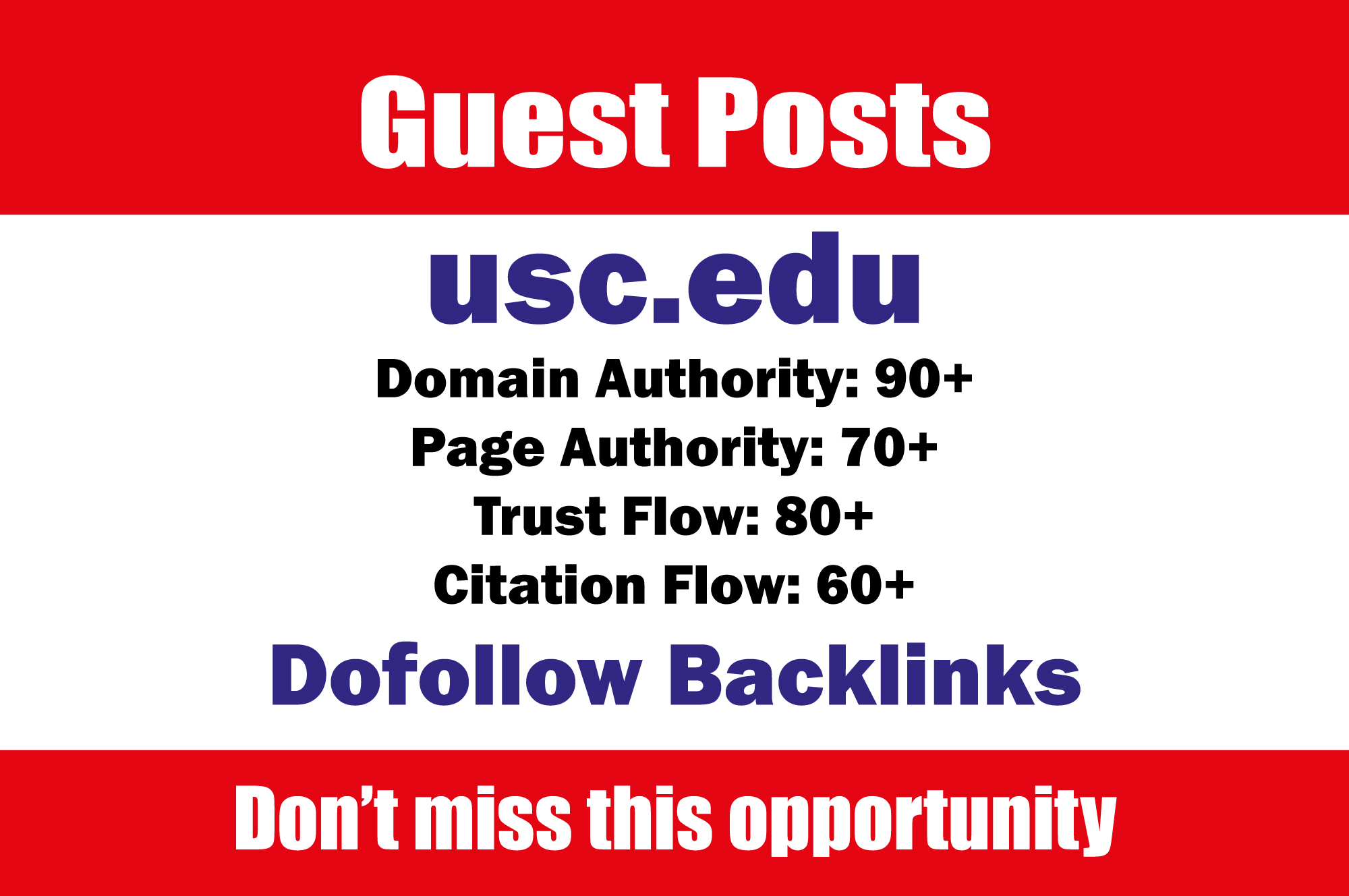 Guest Post On University of Southern California - usc.edu DA91 with do f0llow