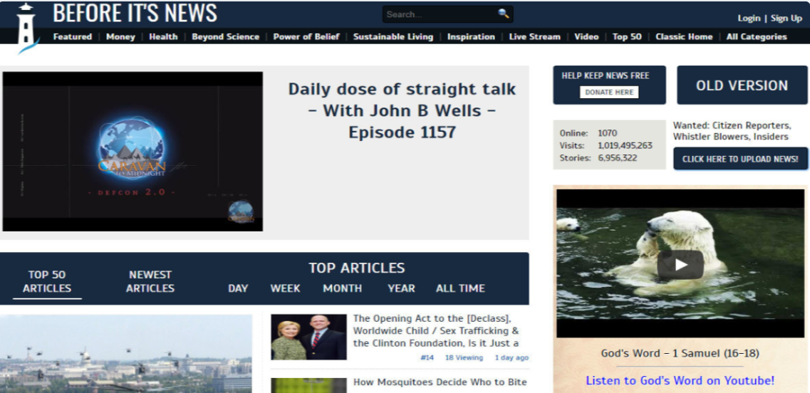 Write & Publish Guest post on Beforeitsnews DA82