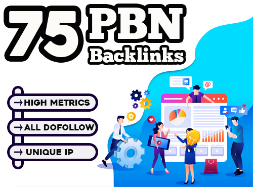 Build 75 PBN Dofollow Backlinks for Google Ranking
