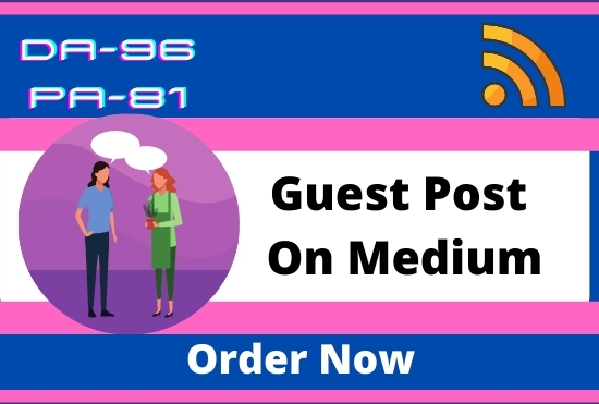 I Will create and publish a free Guest Post with High Authority on medium