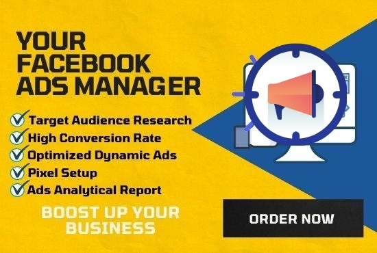 I will run Facebook ads campaign with targeted audience