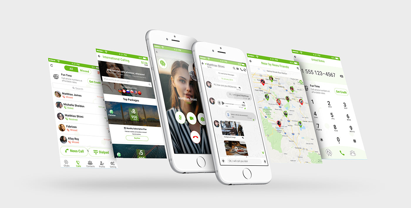 create awesome app and website design