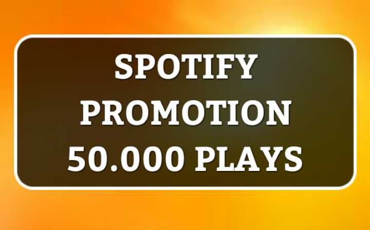 Promote Up 50,000 Real Streams for your Music playlist track
