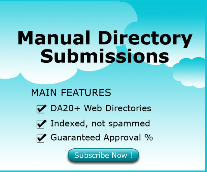 75 Manual Directory submission as per Your keywords and websites